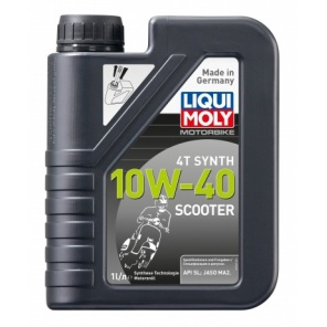 Моторное масло LIQUI MOLY  Scooter Motoroil Synth 4T 10W-40 1L