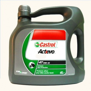 Моторное масло  Castrol Act>Evo 4T 10W40 4L