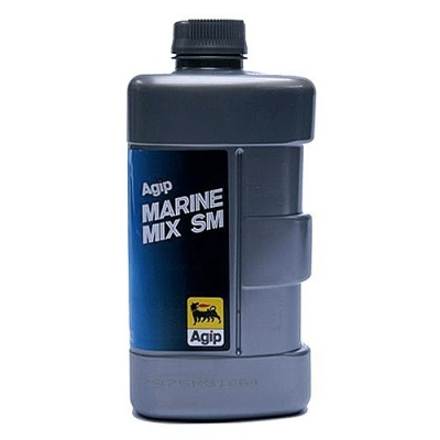 Моторное масло Agip Marinemix  SM 1L