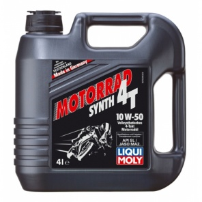 Моторное масло LIQUI MOLY Racing Synth 4T 10W-50 4L