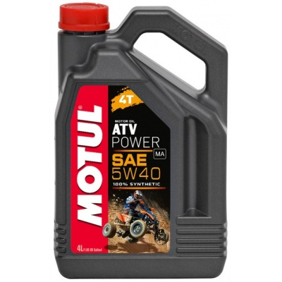 Моторное масло Motul ATV Power 4T 5W-40 4L