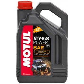 Моторное масло Motul  ATV SXS Power 4T 10W-50 4L