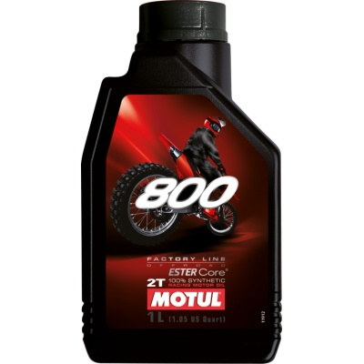 Моторное масло Motul 800 2T Factory Line Off Road 1L
