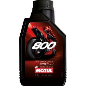 Моторное масло Motul 800 2T Factory Line Road Racing 1L