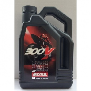 Моторное масло Motul 300V Factory Line Road Racing 5W40 4L