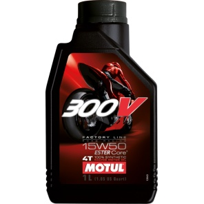 Моторное масло Motul 300V Factory Line Road Racing 15W50 1L