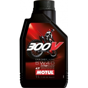 Моторное масло Motul 300V Factory Line Off Road 5W40 1L
