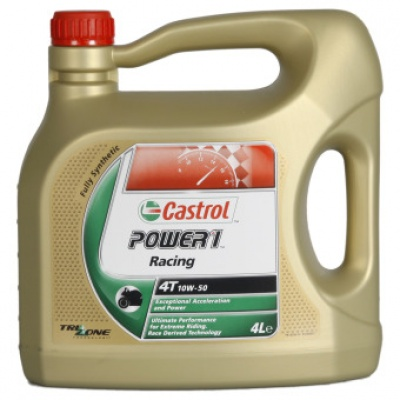 Моторное масло Castrol Power 1 Racing 4T 10W-50 4L