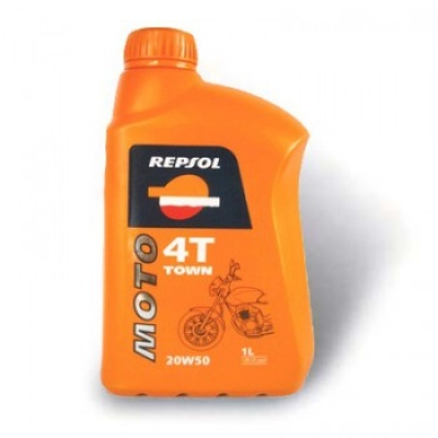 Моторное масло Repsol Moto Town 4T 20W50 1L